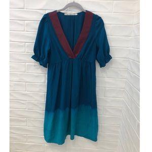 Gibson ombré silk dress